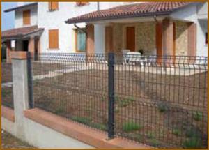 Pannelli per recinzioni metalliche for Cancelli in ferro leroy merlin
